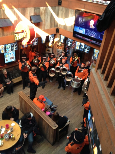 OSU Band at Eskimo Joe's