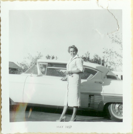 Betty & car