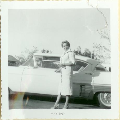 Betty & car
