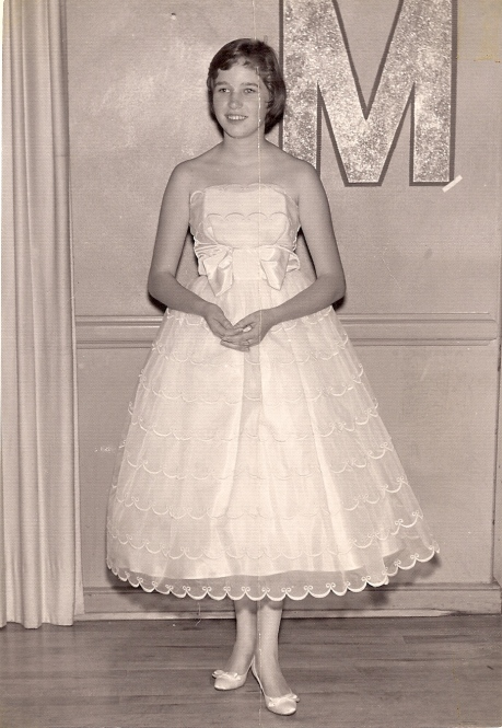 Karen at Merry Maids Dance 1958
