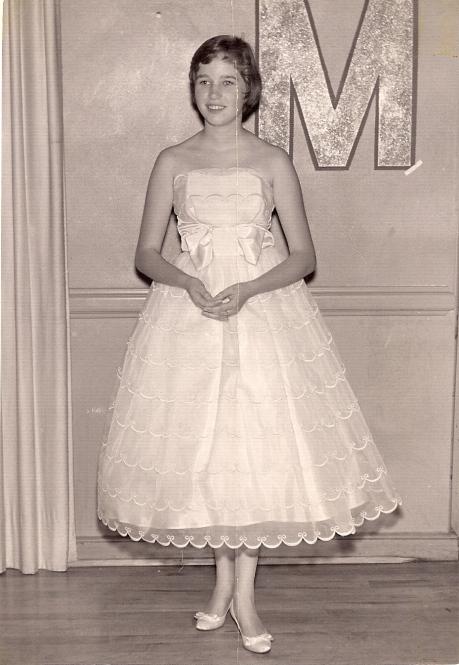 Karen at Merry Maids Dance 1958