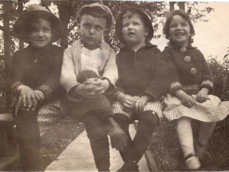 J.C. Hamilton, Robert?, Ed & Sara Hamilton
