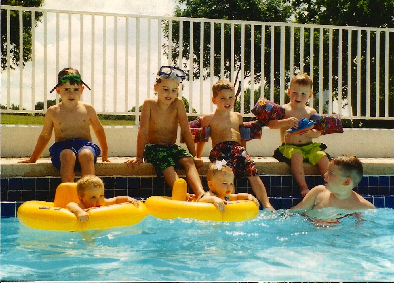 Kids at TCC Pool